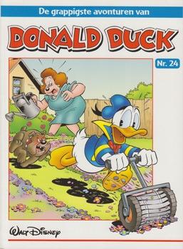 """Donald Duck """"De grappigste avonturen"""" softcover nummer: 24."""