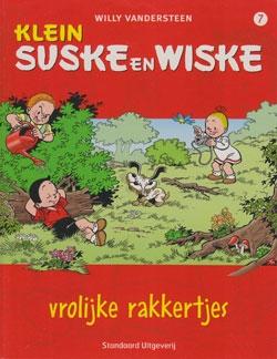 Klein Suske en Wiske softcover nummer: 7. (licht) beschadigd