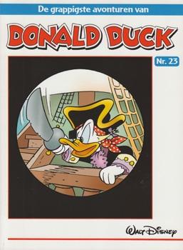 """Donald Duck """"De grappigste avonturen"""" softcover nummer: 23."""