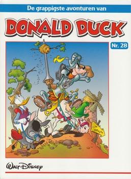 """Donald Duck """"De grappigste avonturen"""" softcover nummer: 28."""