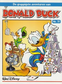 """Donald Duck """"De grappigste avonturen"""" softcover nummer: 31."""