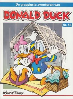 """Donald Duck """"De grappigste avonturen"""" softcover nummer: 36."""
