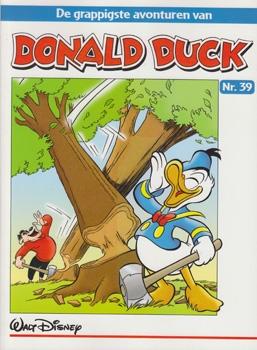"""Donald Duck """"De grappigste avonturen"""" softcover nummer: 39."""