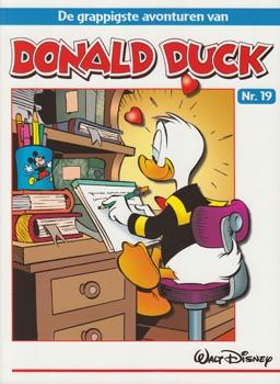 """Donald Duck """"De grappigste avonturen"""" softcover nummer: 19."""