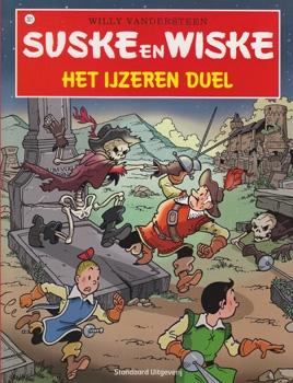 Suske en Wiske softcover nummer: 321. Hertekende cover.