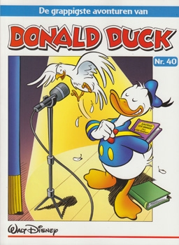 """Donald Duck """"De grappigste avonturen"""" softcover nummer: 40."""