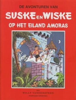 "Suske en Wiske softcover ""Op het eiland Amoras"" De standaard"