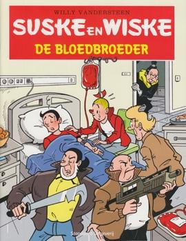 Suske en Wiske softcover De bloedbroeder, Belgische uitgave.