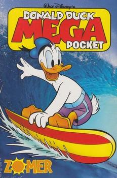 Donald Duck Mega Pocket, softcover, Zomer.
