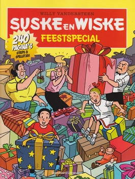 Suske en Wiske softcover Feestspecial 2013.
