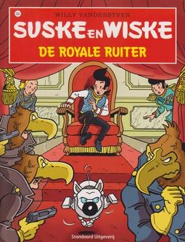Suske en Wiske softcover nummer: 324. Hertekende cover.