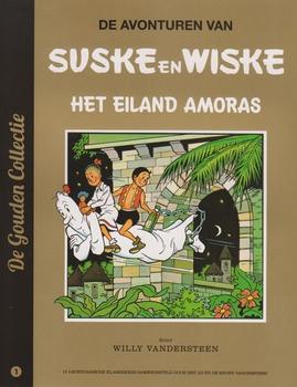 Suske en Wiske softcover, AD, Het eiland Amoras. 2013.
