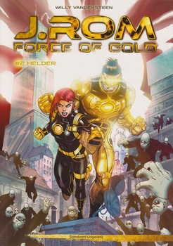 J.ROM Force of Gold, Softcover, Nummer 2.