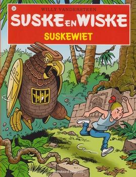 Suske en Wiske softcover nummer: 329. Hertekende cover.