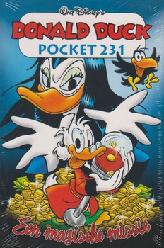 Donald Duck pocket softcover nummer: 231.