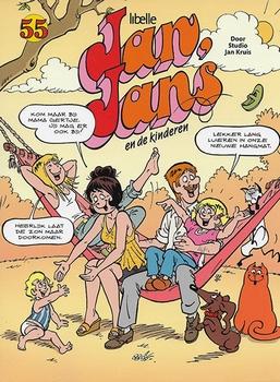 Jan, Jans en de kinderen softcover nummer: 55.