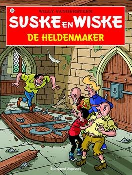 Suske en Wiske softcover nummer: 338. Hertekende cover.