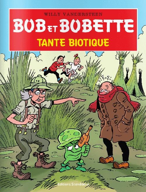 Franse softcover Bob et Bobette - Tante Biotique (2017).