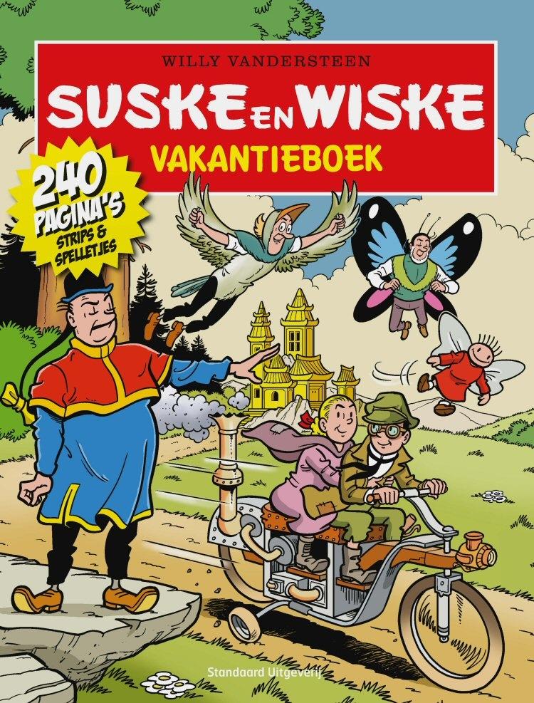 Suske en Wiske softcover Vakantieboek 2016.