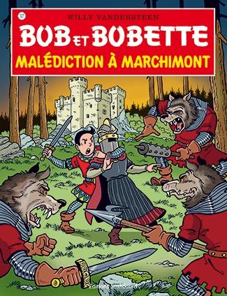 Bob et Bobette Franstalige softcover nummer 327. beschadigd.