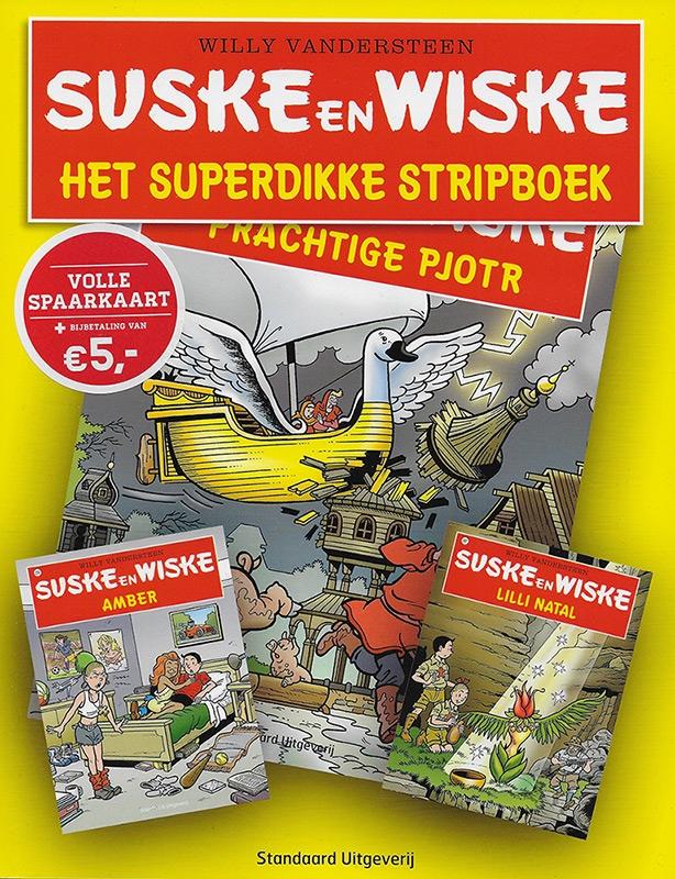 Softcover Het Superdikke Stripboek +sticker/volle spaarkaart