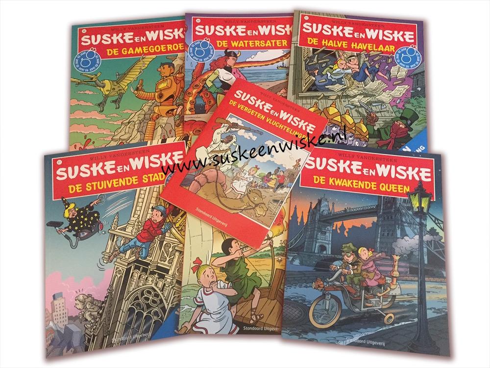 Suske en Wiske Actiepakket (3-A) € 39,00