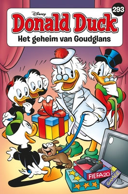 Donald Duck pocket softcover nummer: 293.