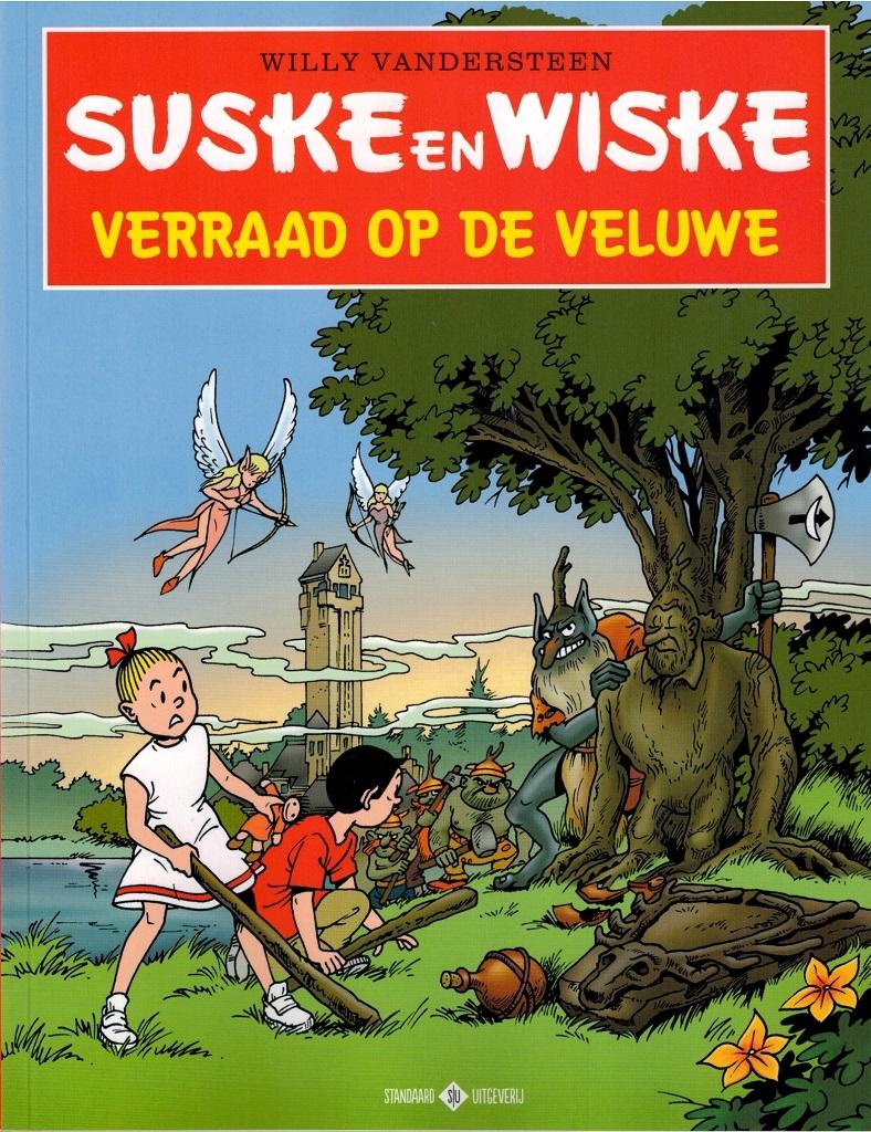 """S en W softcover """"Verraad op de veluwe"""" Hoge veluwe (2019)."""