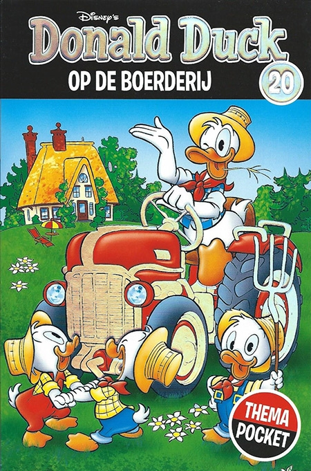 Donald Duck thema pocket, nummer: 20.