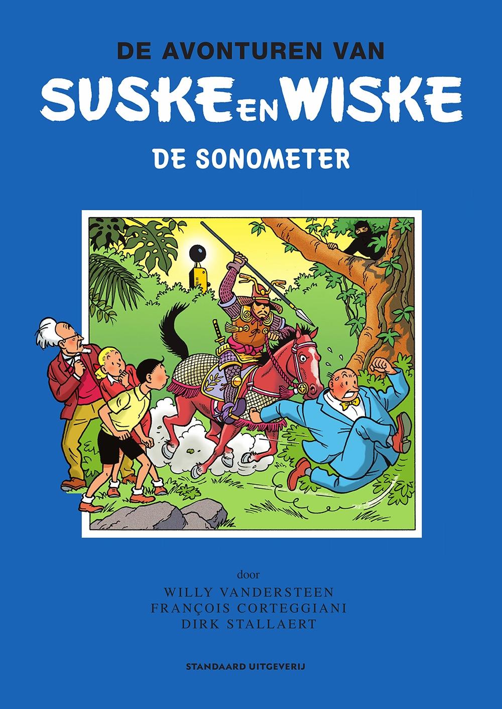 "Suske en Wiske Softcover ""De Sonometer""."
