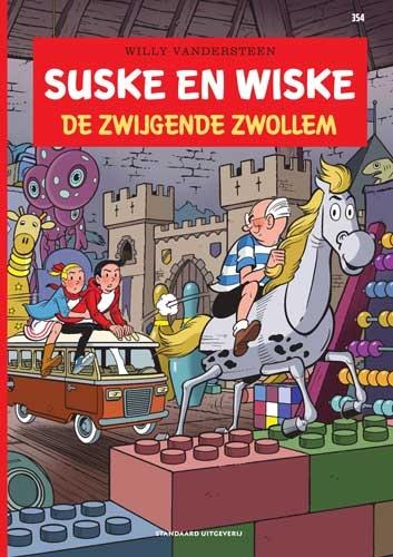 Suske en Wiske softcover nummer: 354. EERSTE DRUK.