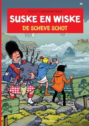 Suske en Wiske softcover nummer: 355. EERSTE DRUK.