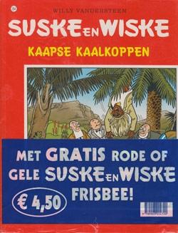 Suske en Wiske softcover nummer: 284 + Frisbee.