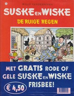 Suske en Wiske softcover nummer: 203 + Frisbee.