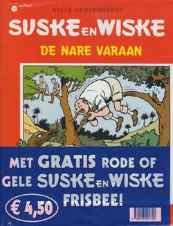 Suske en Wiske softcover nummer: 153 + Frisbee.