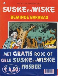 Suske en Wiske softcover nummer: 156 + Frisbee.