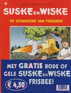 Suske en Wiske softcover nummer: 281 + Frisbee.