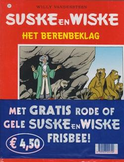 Suske en Wiske softcover nummer: 261 + Frisbee.