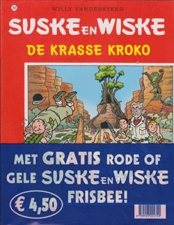 Suske en Wiske softcover nummer: 295 + Frisbee.