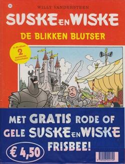 Suske en Wiske softcover nummer: 290 + Frisbee.