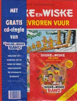 Suske en Wiske softcover nummer: 141 + CD-single helden.