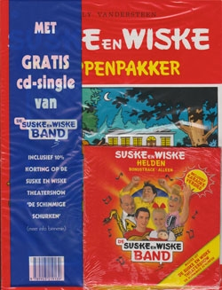 Suske en Wiske softcover nummer: 147 + CD-single helden.