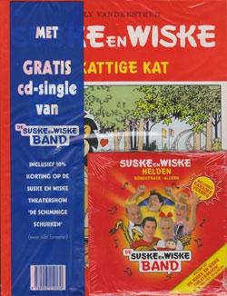 Suske en Wiske softcover nummer: 205 + CD-single helden.