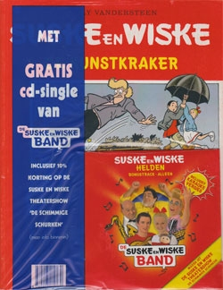 Suske en Wiske softcover nummer: 278 + CD-single helden.