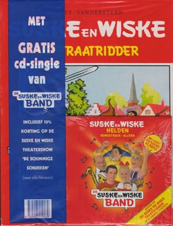 Suske en Wiske softcover nummer: 83 + CD-single helden.