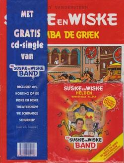 Suske en Wiske softcover nummer: 72 + CD-single helden.