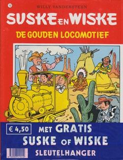 Suske en Wiske softcover nummer: 162 + Sleutelhanger.