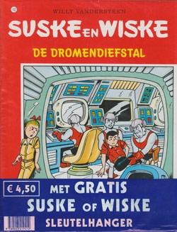Suske en Wiske softcover nummer: 102 + Sleutelhanger.