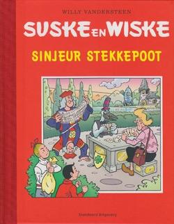 "Luxe hardcover ""Sinjeur stekkepoot""."