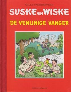 """Luxe hardcover """"De venijnige vanger""""."""